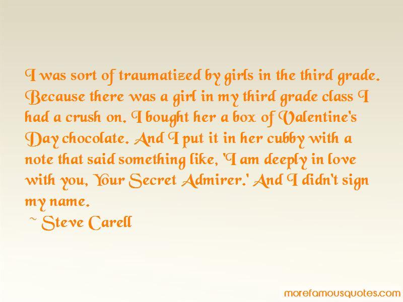 Secret Admirer Crush Quotes: top 1 quotes about Secret ...