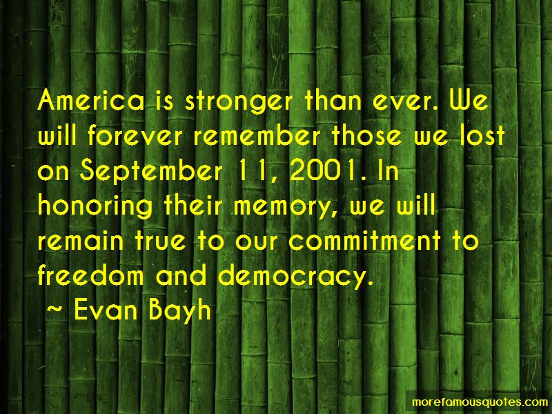 September 11 Honoring Quotes