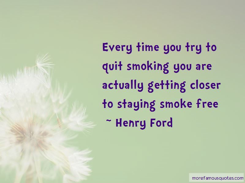 Smoke Free Quotes Pictures 4