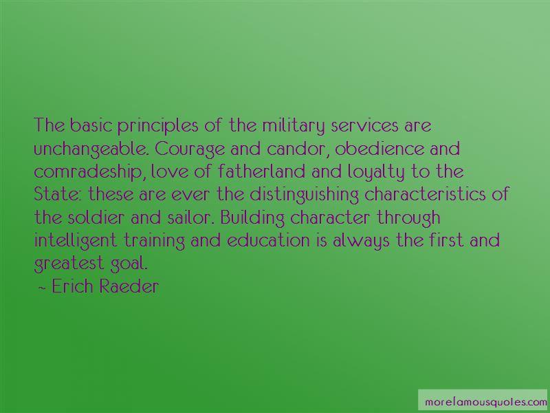 Soldier Comradeship Quotes