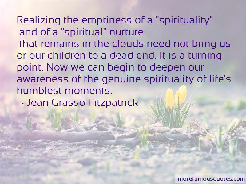 Spiritual Nurture Quotes