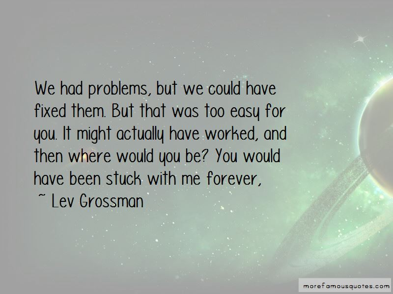 Stuck With Me Forever Quotes
