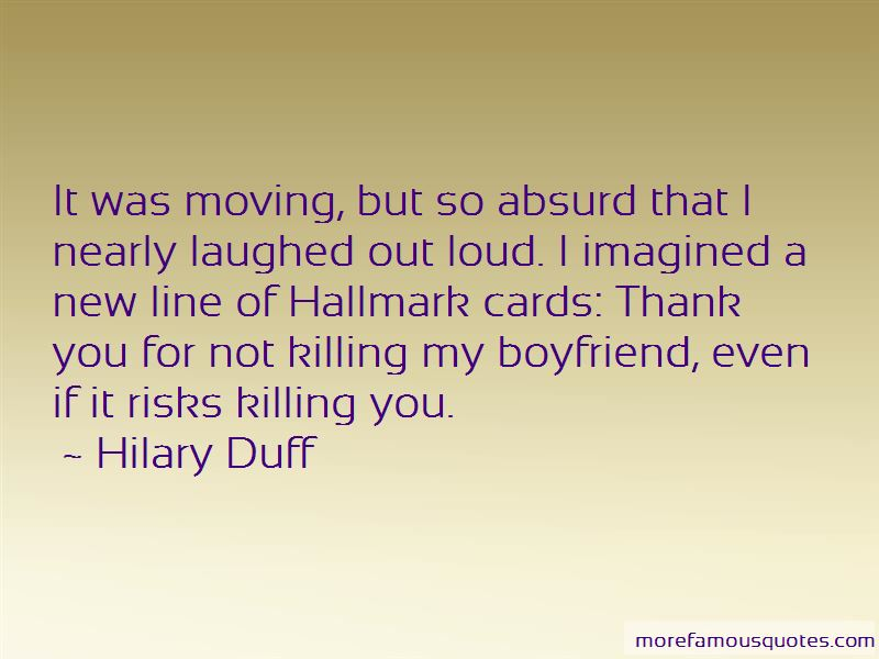 Thank You My Boyfriend Quotes: top 4 quotes about Thank You ...