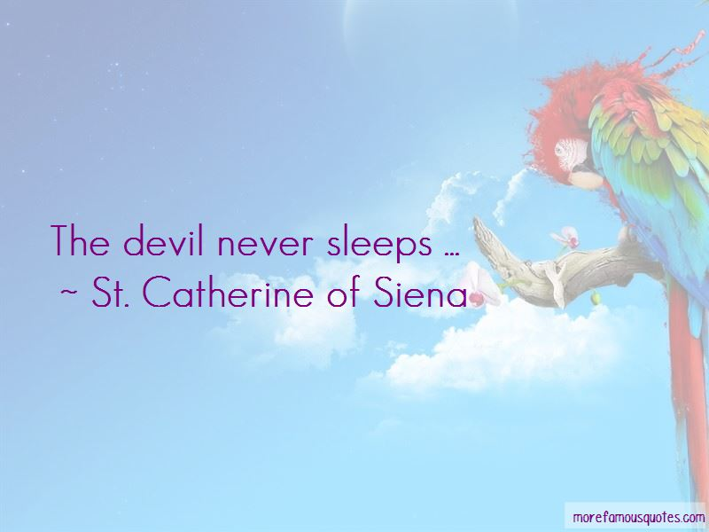 The Devil Never Sleeps Quotes