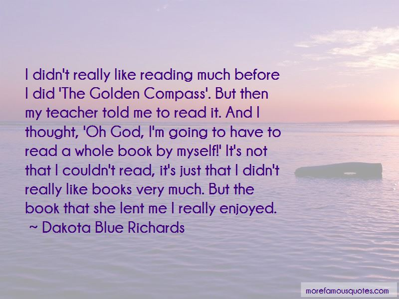 The Golden Compass Book Quotes