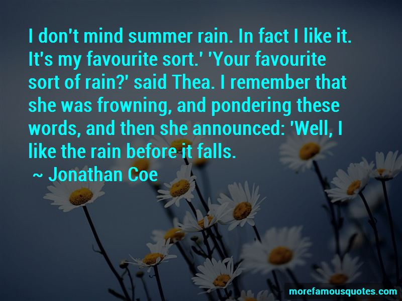 The Rain Before It Falls Quotes Pictures 2