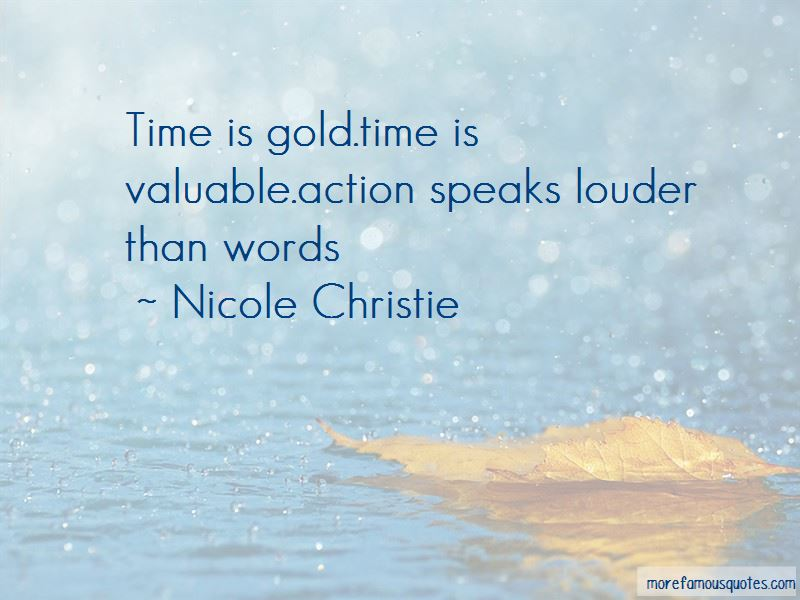 Time Is Gold Quotes Pictures 2