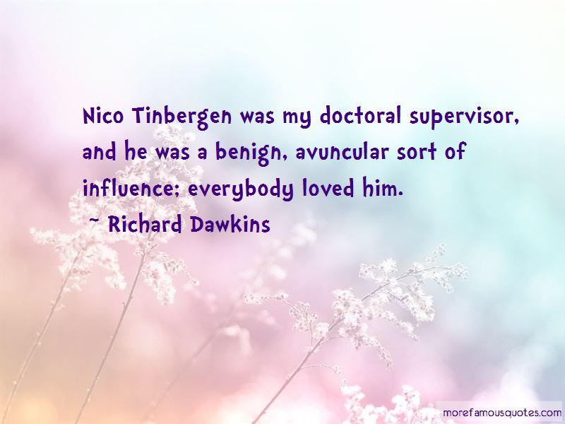 Tinbergen Quotes