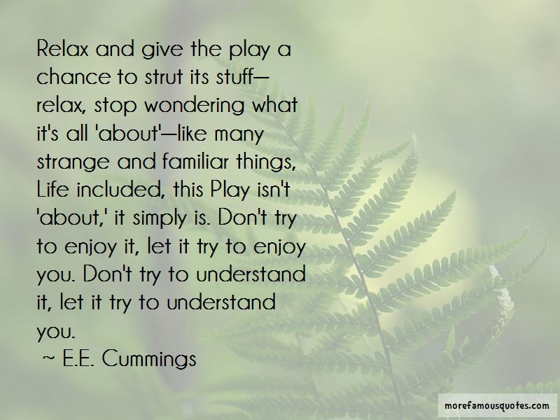 Try To Understand You Quotes