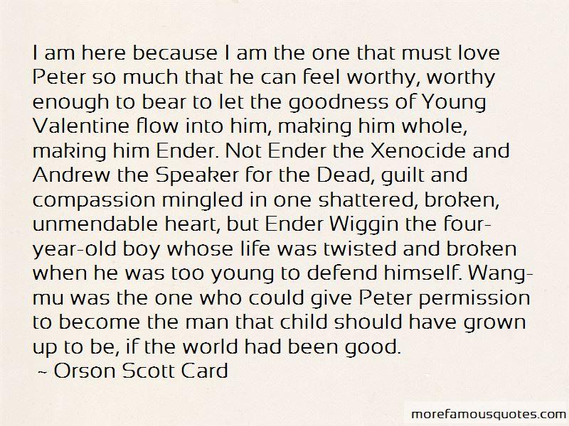 Valentine Ender Quotes