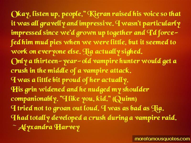 Vampire Hunter Quotes