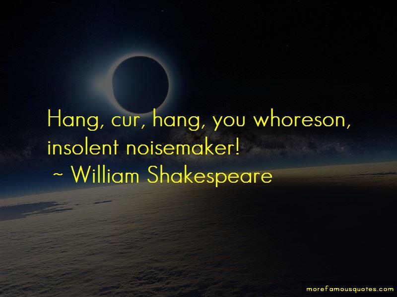 Whoreson Quotes