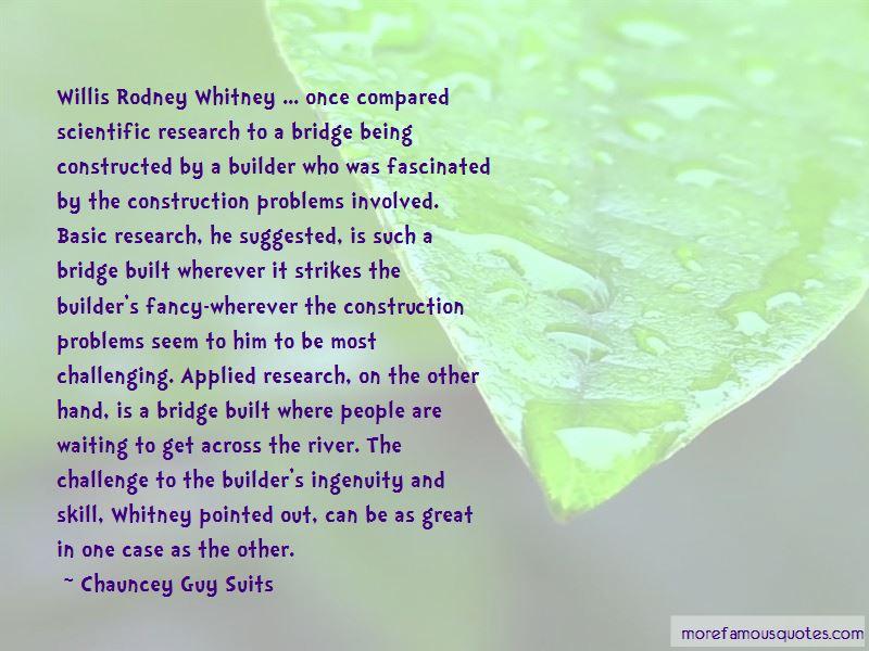 Willis Whitney Quotes