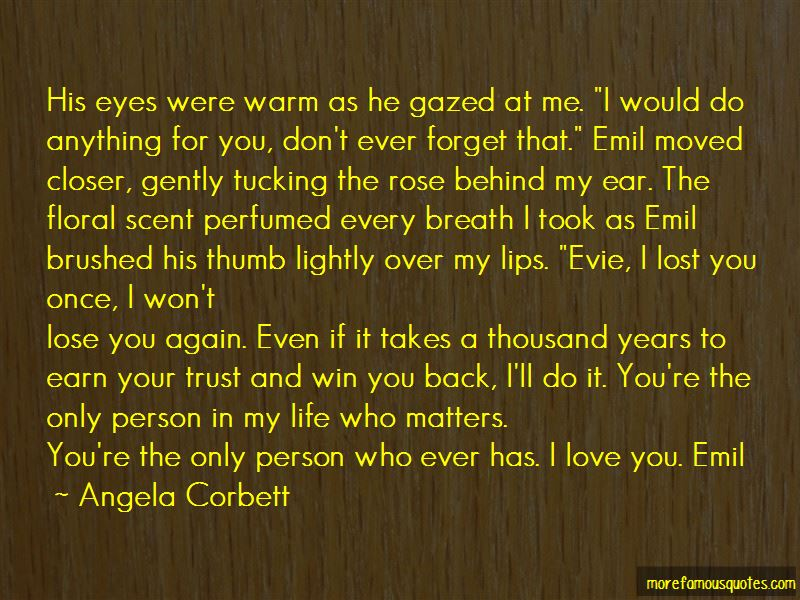 Win Back Your Love Quotes