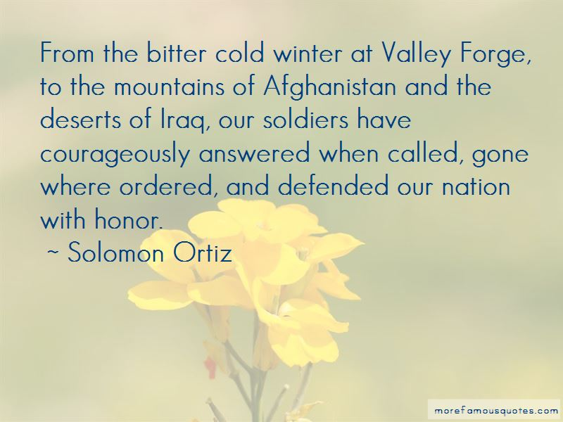 Winter Valley Forge Quotes
