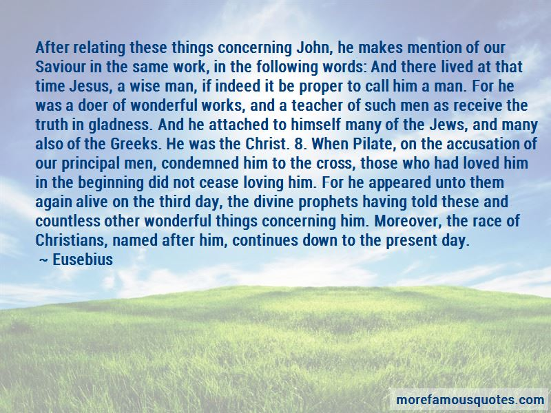 Wonderful Saviour Quotes