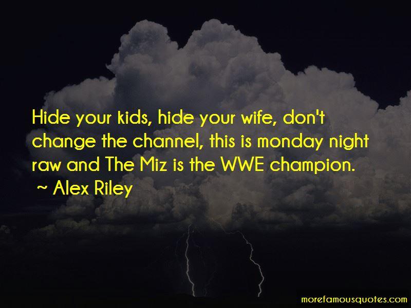 Wwe Monday Night Raw Quotes