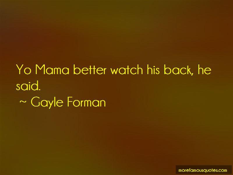 Yo Mama Quotes
