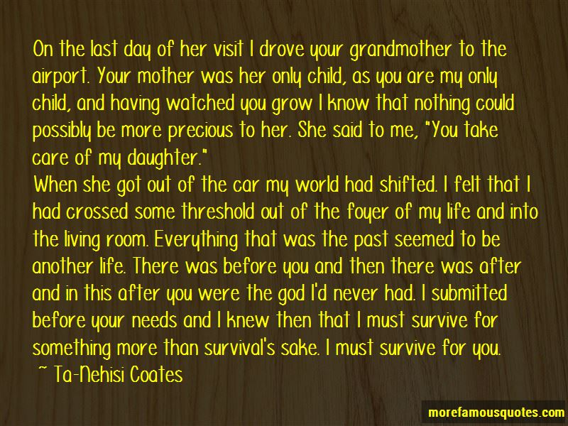 Your Daughter Needs You Quotes Pictures 3