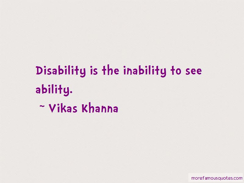 Ability Vs Disability Quotes Pictures 4