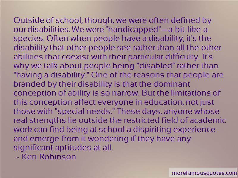 Ability Vs Disability Quotes