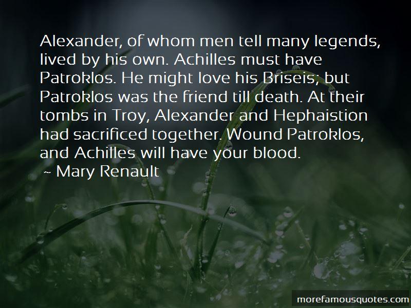 Achilles Briseis Quotes