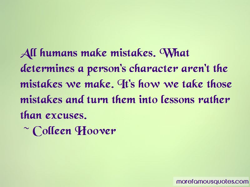 All Humans Make Mistakes Quotes