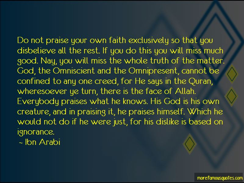Allah Knows The Truth Quotes