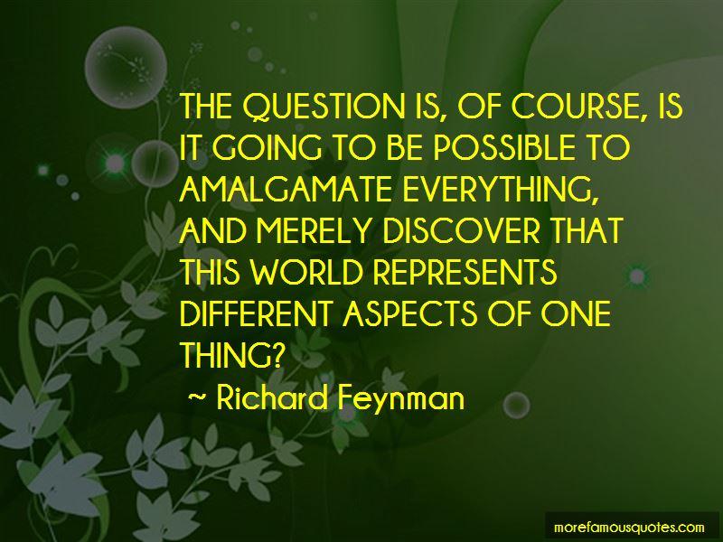 Amalgamate Quotes