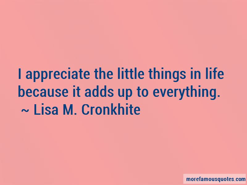 Appreciate Things In Life Quotes Pictures 4