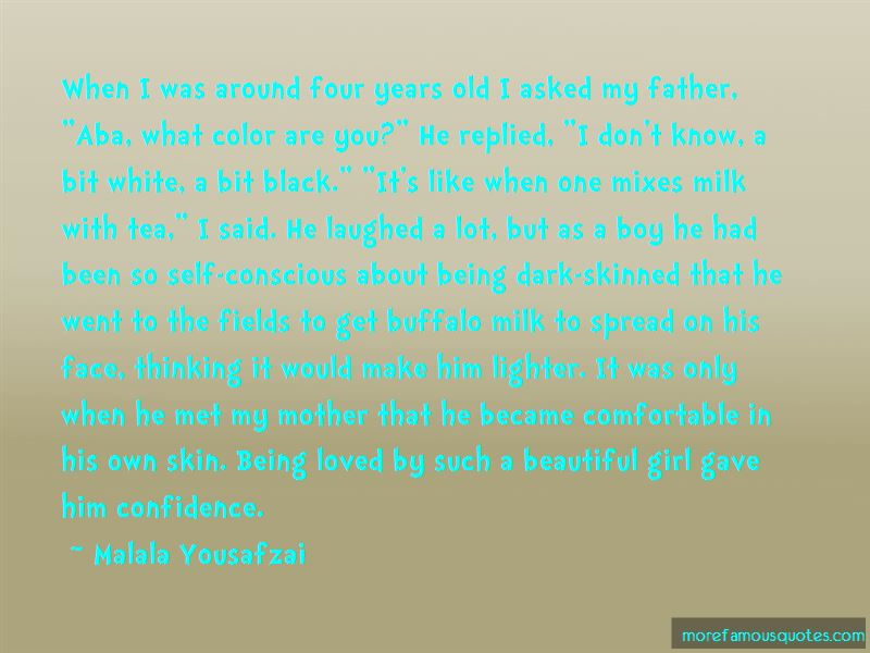 Beautiful Dark Skin Girl Quotes