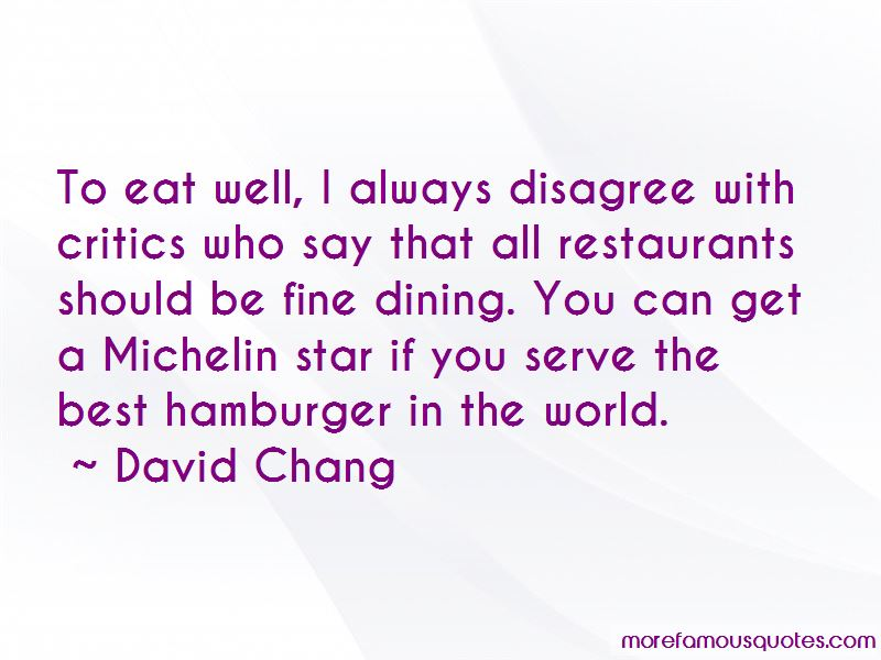 Best Fine Dining Quotes