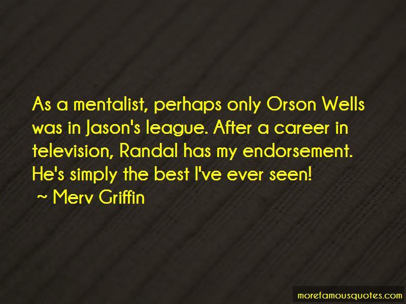 Best Mentalist Quotes