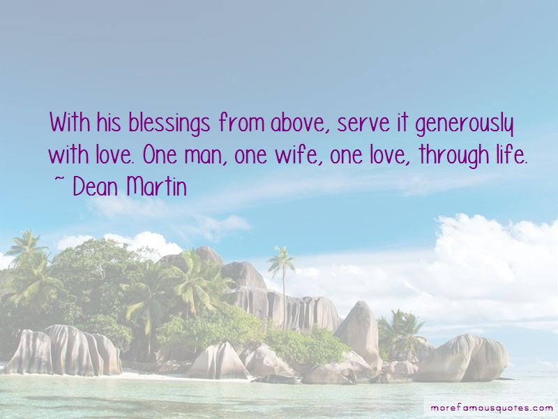 Blessings From Above Quotes