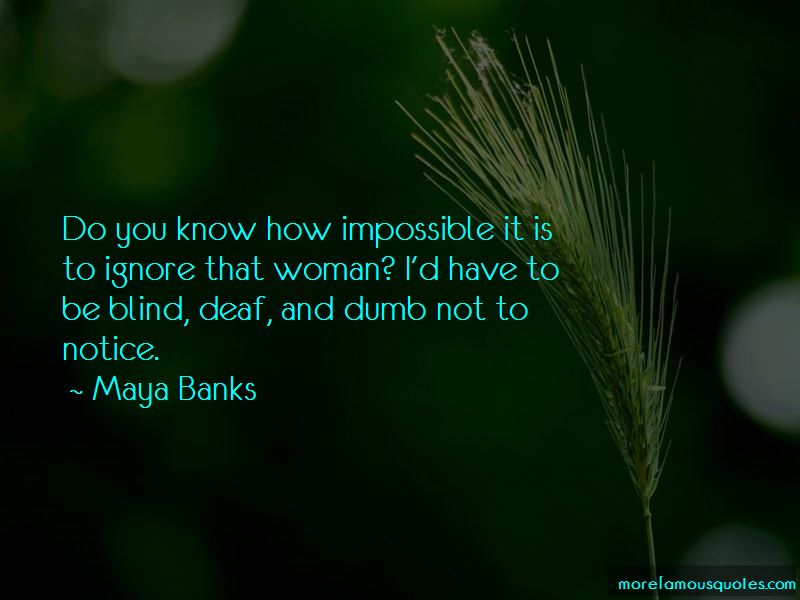 Blind Deaf And Dumb Quotes Pictures 3