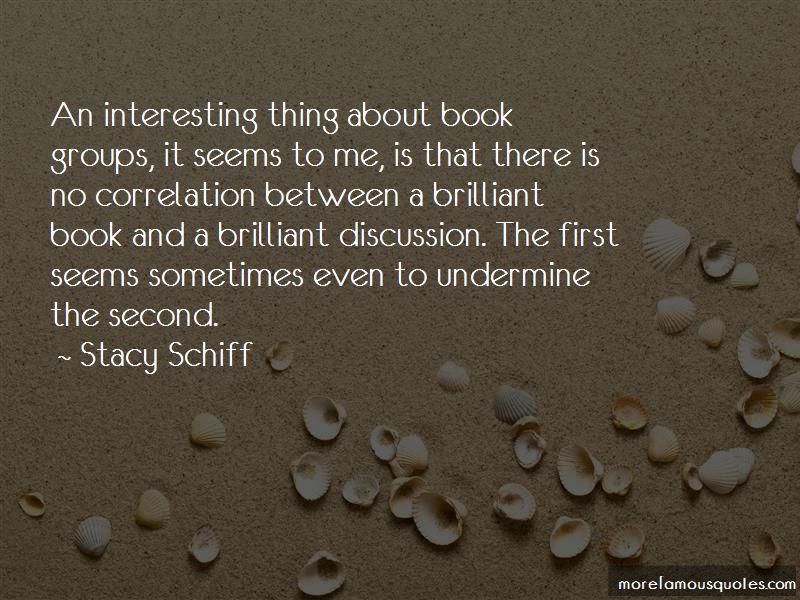 Book Discussion Quotes