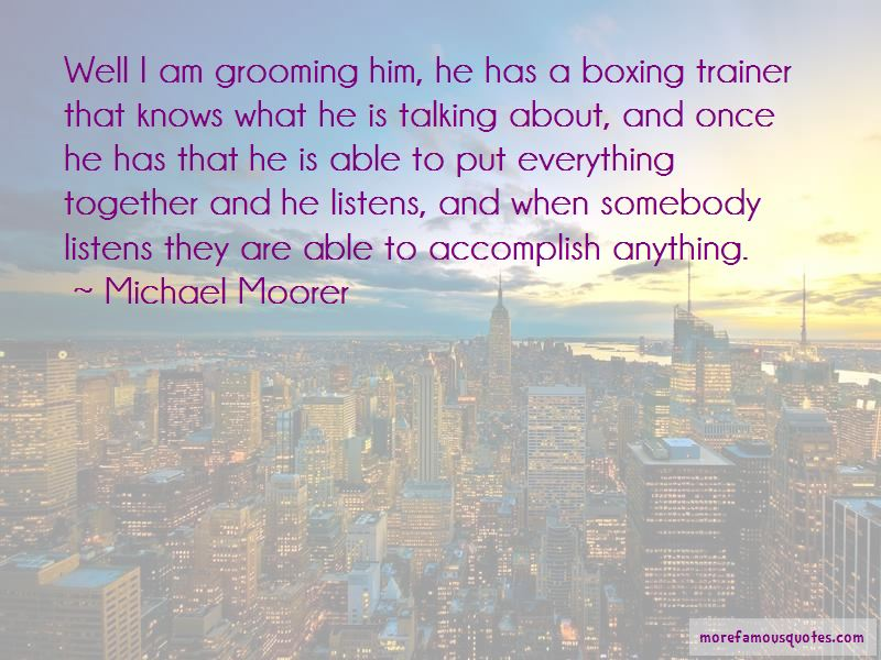 Boxing Trainer Quotes Pictures 2