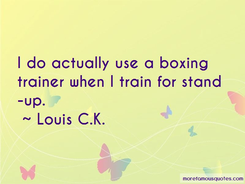 Boxing Trainer Quotes