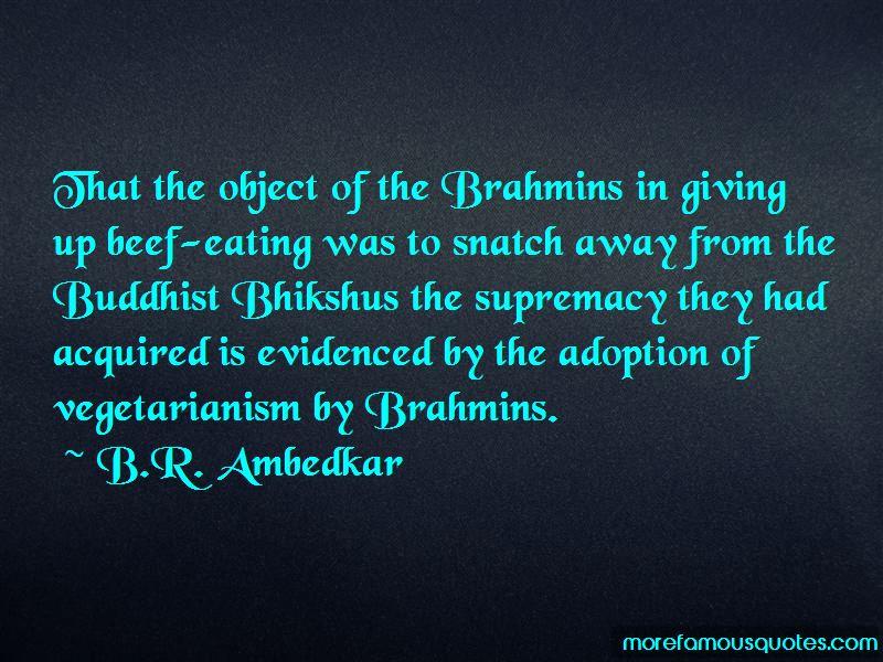 Buddhist Vegetarianism Quotes