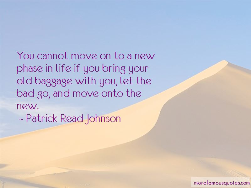 Cannot Move On Quotes