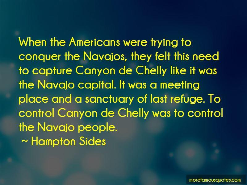 Canyon De Chelly Quotes