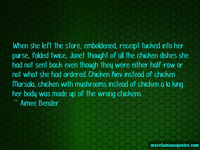 Chicken Dishes Quotes