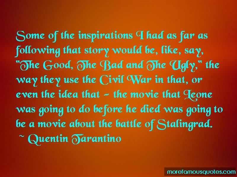 Civil War Movie Quotes