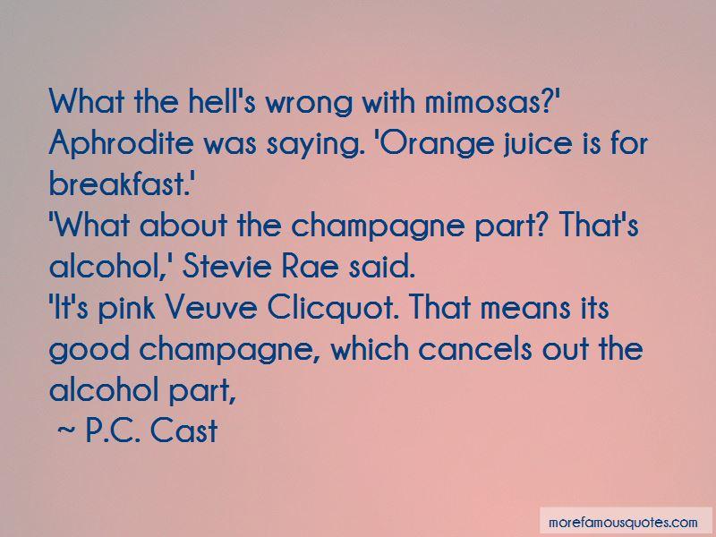 Clicquot Quotes