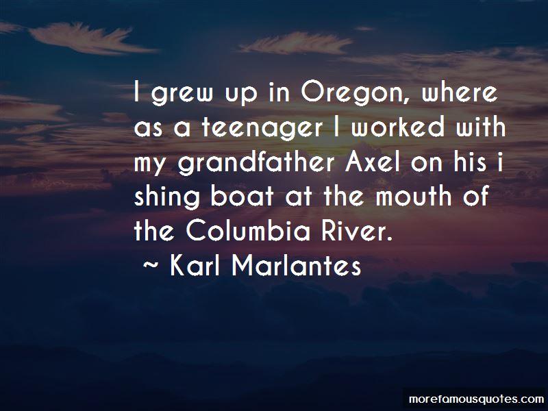 Columbia River Quotes