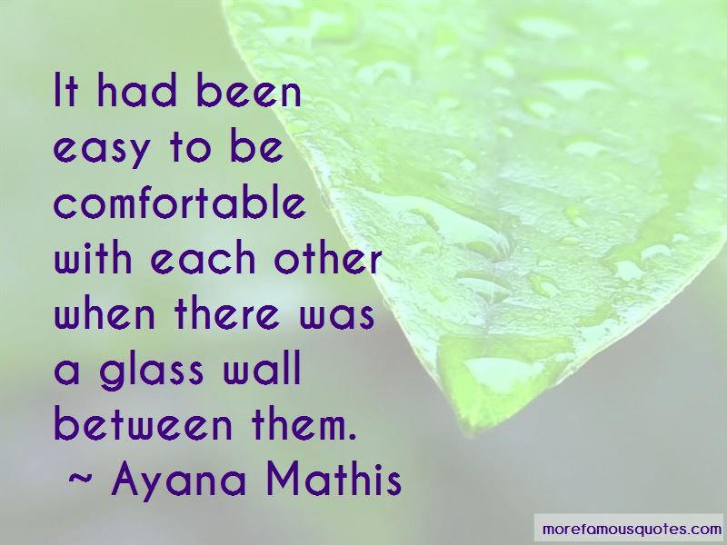 Comfortable With Each Other Quotes Pictures 4
