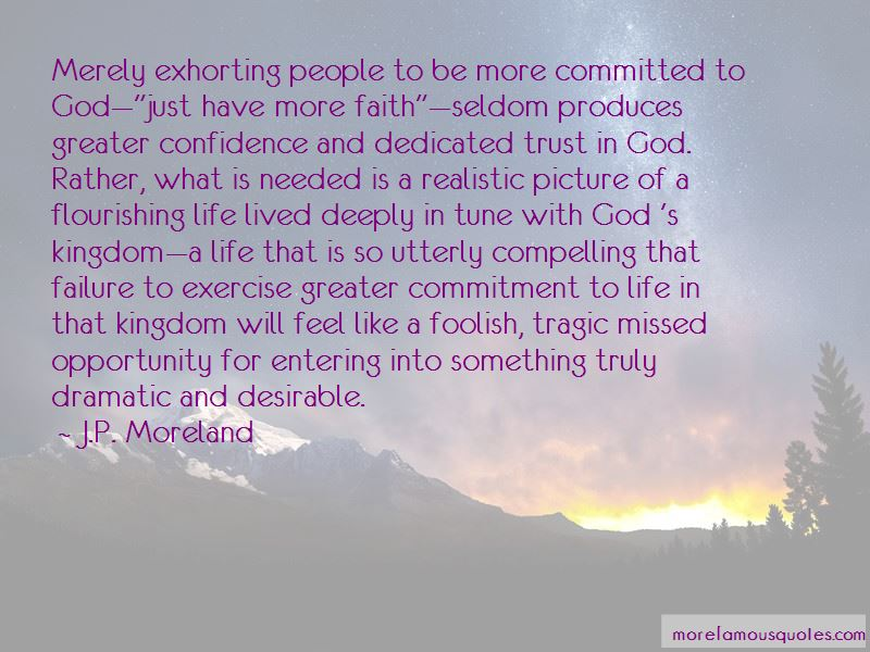 Commitment God Quotes
