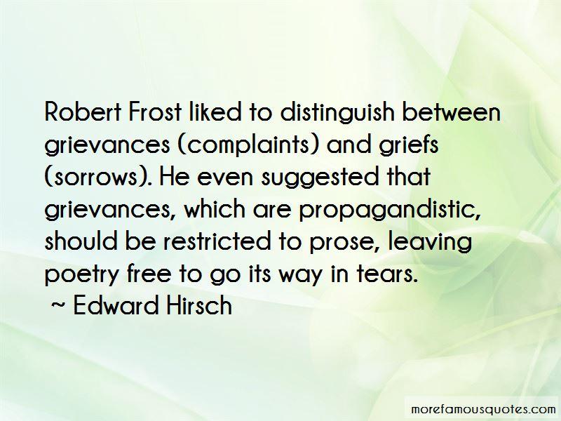 Complaints And Grievances Quotes