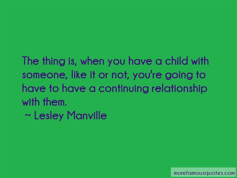 Continuing Relationship Quotes