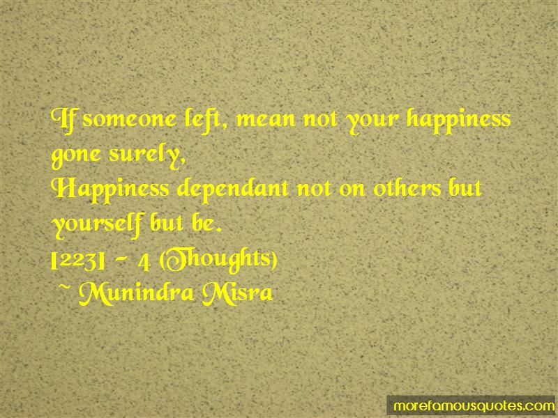Dependant On Others Quotes Pictures 2